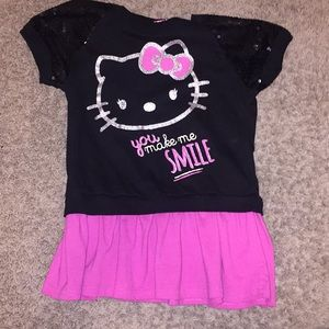 e05b6537a Hello Kitty Matching Sets - Size 10-12 Hello Kitty black sequin outfit